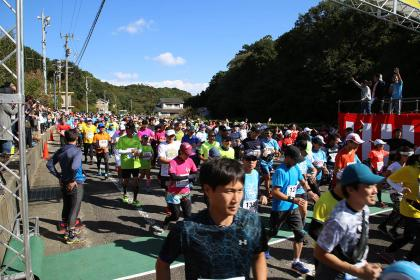 第3回なると島田島ハーフマラソン produced by 間寛平